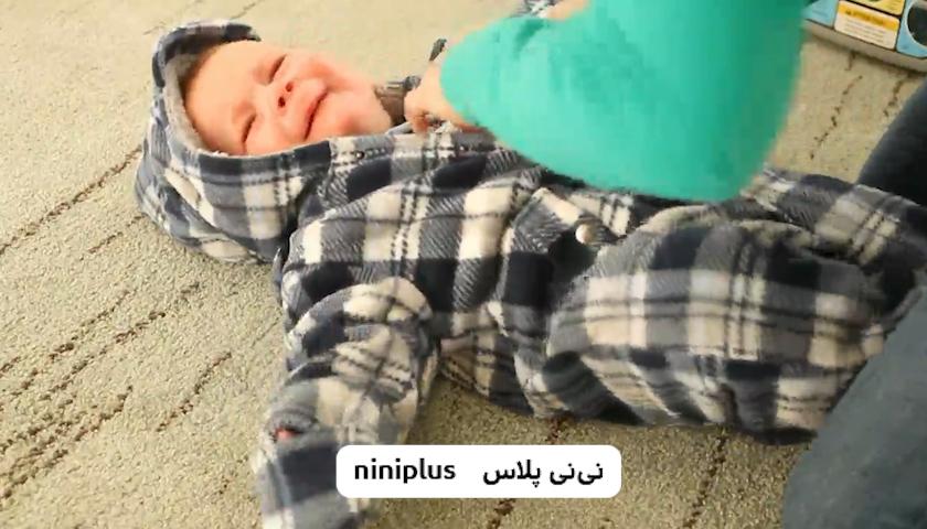 عفونت گوش در نوزادان