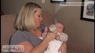 چگونه نوزاد را با شیشه شیر آشنا کنیم؟ نی نی پلاس