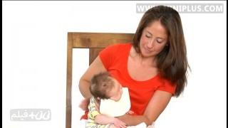 روش های گرفتن آروغ نوزاد نی نی پلاس