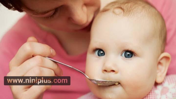 غذای کمکی به نوزاد 9 ماهه و 10 ماهه