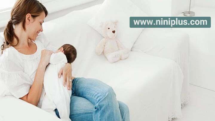 علل کمبود تولید شیر در مادر