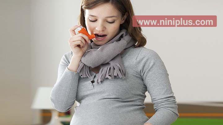 عوارض آسم بر مادر و جنین