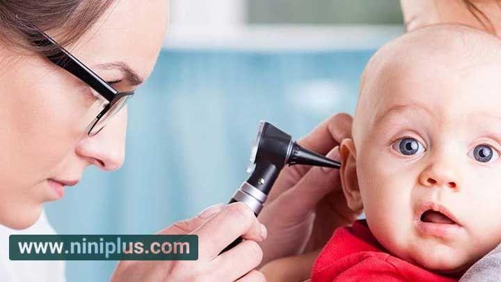 درمان و نشانه های عفونت گوش کودکان