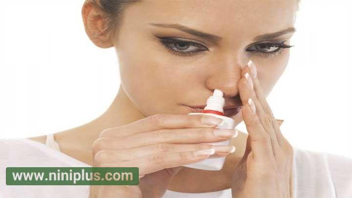 تسکین درد زایمان با استفاده اسپری بینی