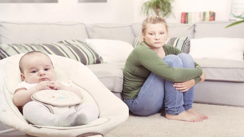 آیا بیماری مادران افسرده پس از زایمان درمان نمی شود؟