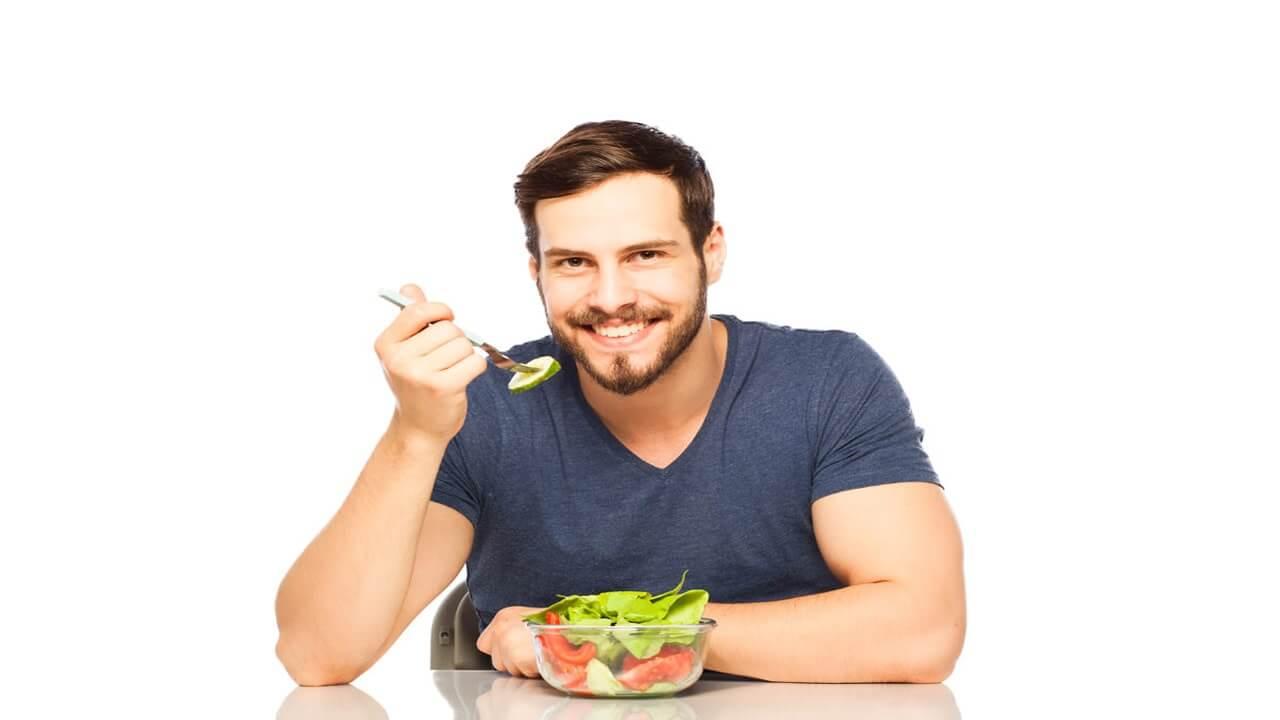 مایع منی سالم با مصرف سبزیجات