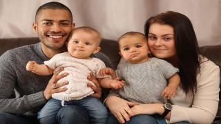 تولد دوقلوهای ناهمگون در یک خانواده  نی نی پلاس