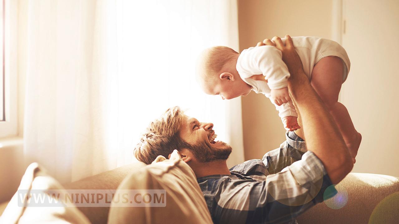اهمیت ارتباط عاطفی نوزادان با پدر!