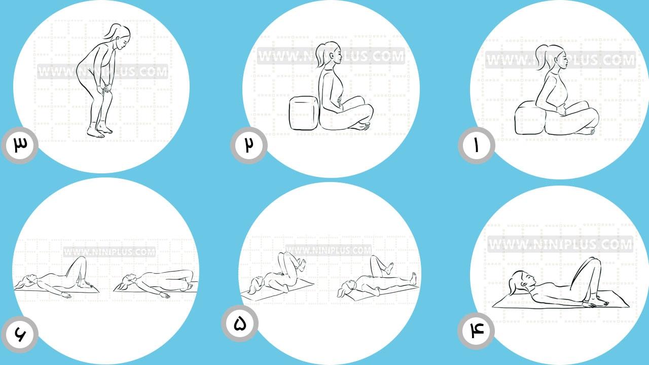 چگونه بعد از بارداری یک شکم تخت داشته باشیم؟