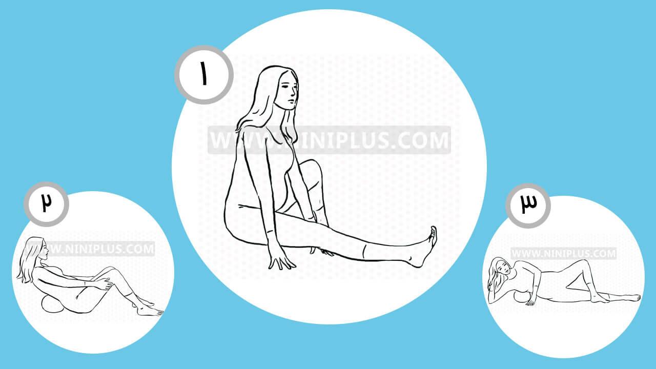 ورزش با توپ در بارداری برای کاهش درد
