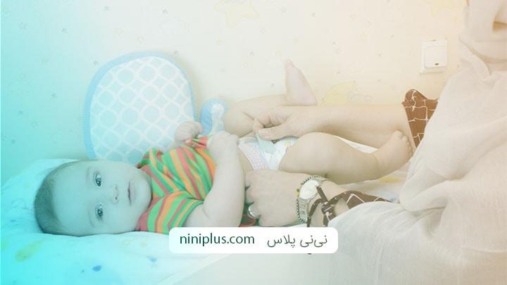 آیا وجود لکه خون در پوشک نوزاد خطرناک است؟