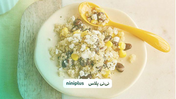 برنامه غذایی مناسب در نه ماهگی کودک و لیست غذاهای مفید
