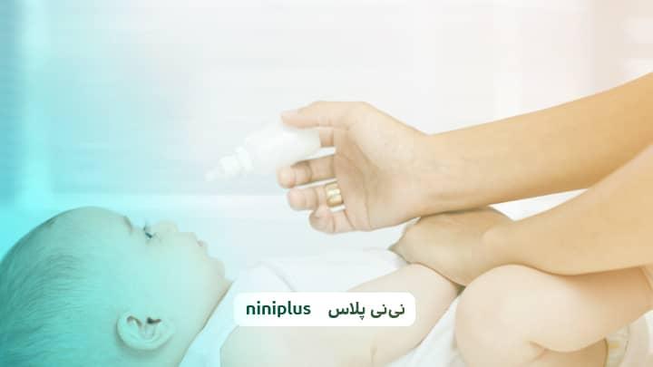 درمان باد شکم نوزاد و بهترین قطره برای نفخ نوزاد چیست؟