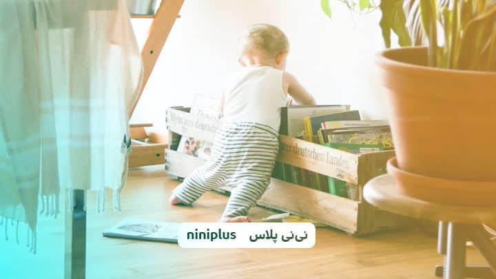 زمان ایستادن کودک تا چندماهگی است واز چه زمان کودک می ایستد؟
