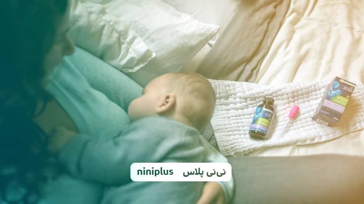 قطره ضد نفخ نوزاد،نحوه استفاده و اندازه مناسب آن چقدر است؟