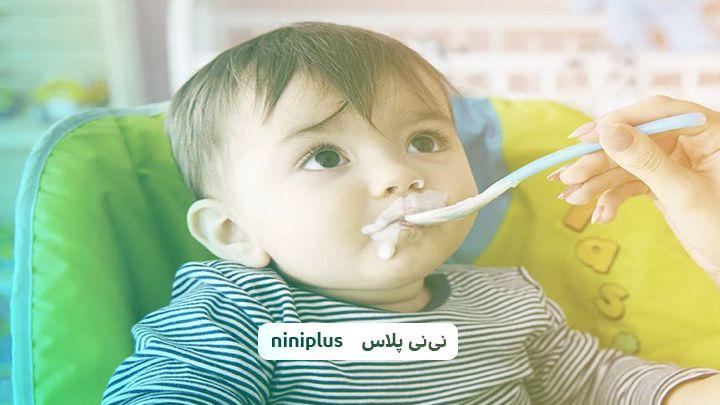 دادن ماست به نوزاد ،زمان ونحوه دادن ماست به نوزاد چگونه است؟
