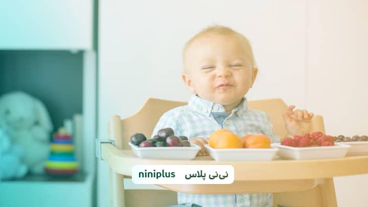 از کی به نوزاد میوه بدهیم واول کدام میوه را به نوزاد بدهم؟