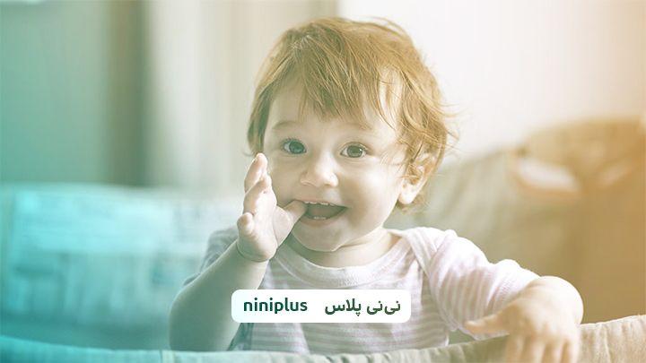 بازی با نوزاد هفت ماهه ، هفته سوم و چهارم