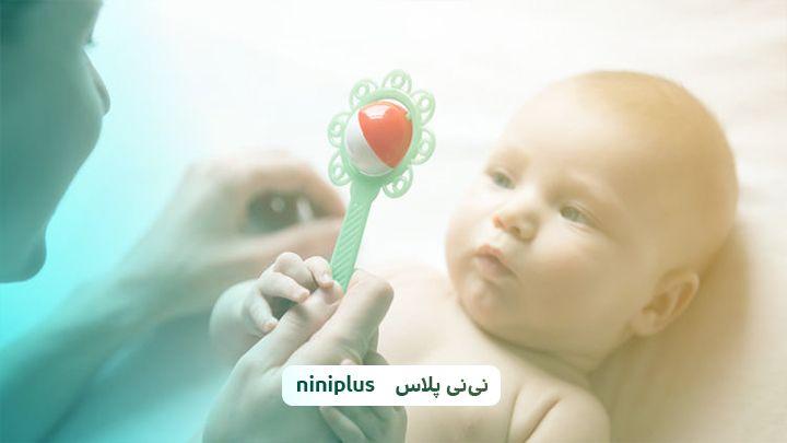 بهترین بازی برای نوزاد از تولد تا سه ماهگی