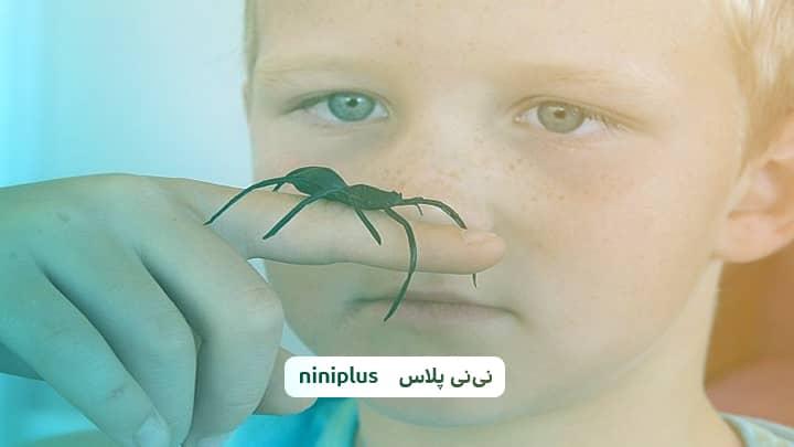 نیش عنکبوت در کودکان و علائم نیش عنکبوت در کودکان چیست؟