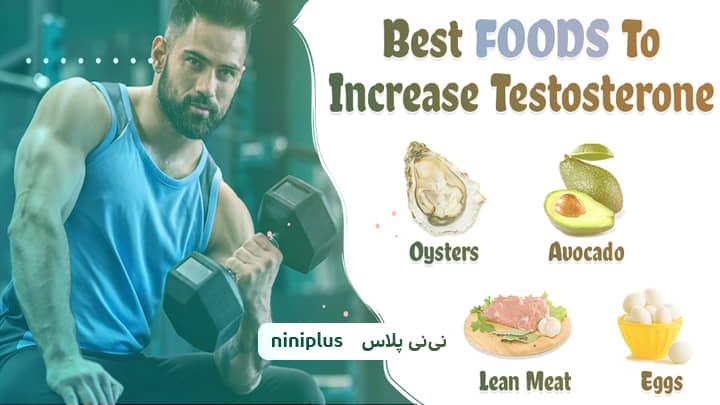 غذاهای افزایش دهنده تستوسترون و چه چیزهایی هورمون مردانه را زیاد میکند؟