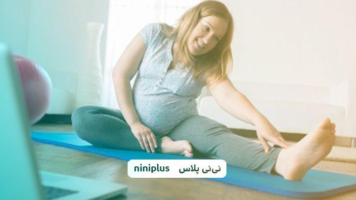 درمان درد پا در بارداری با کمک 5 ورزش موثر